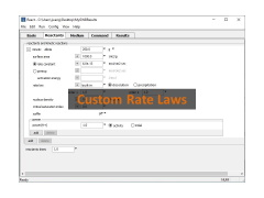 Custom Rate Laws